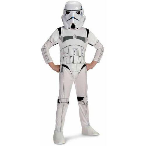 STAR WARS Boys' Stormtrooper More Candy Please Black S//S Tee Glows Halloween