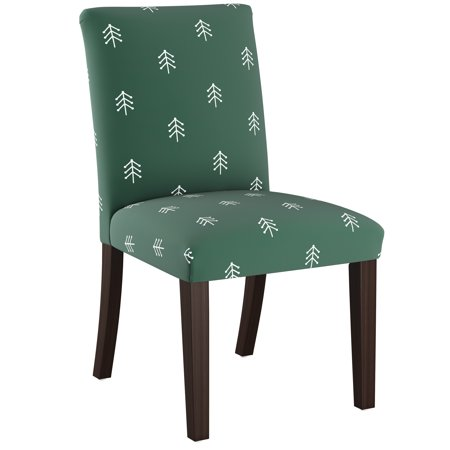Skyline Furniture Dining Chair in Line Tree Evergreen ()