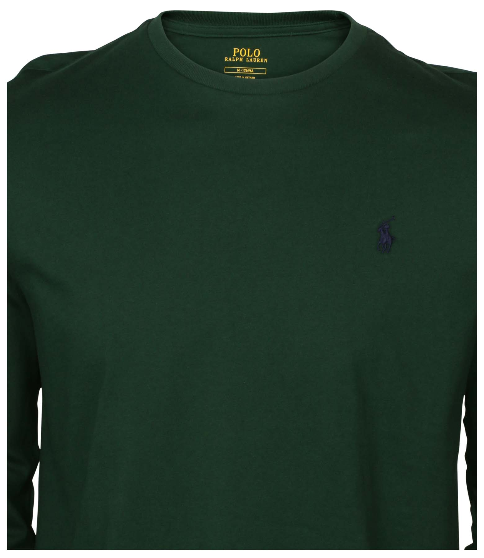 fc07f082664a Polo Ralph Lauren Men s Long Sleeve Classic Fit Crew Neck Pony Tee Shirt