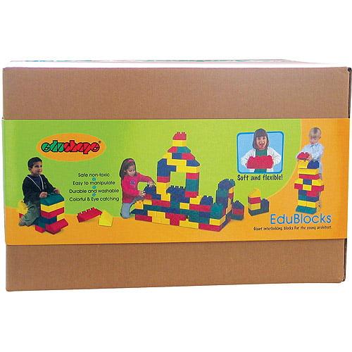 Juguete Para Bebe Edushape EduBlocks, 50-Piece + juguetes para bebes en VeoyCompro.net