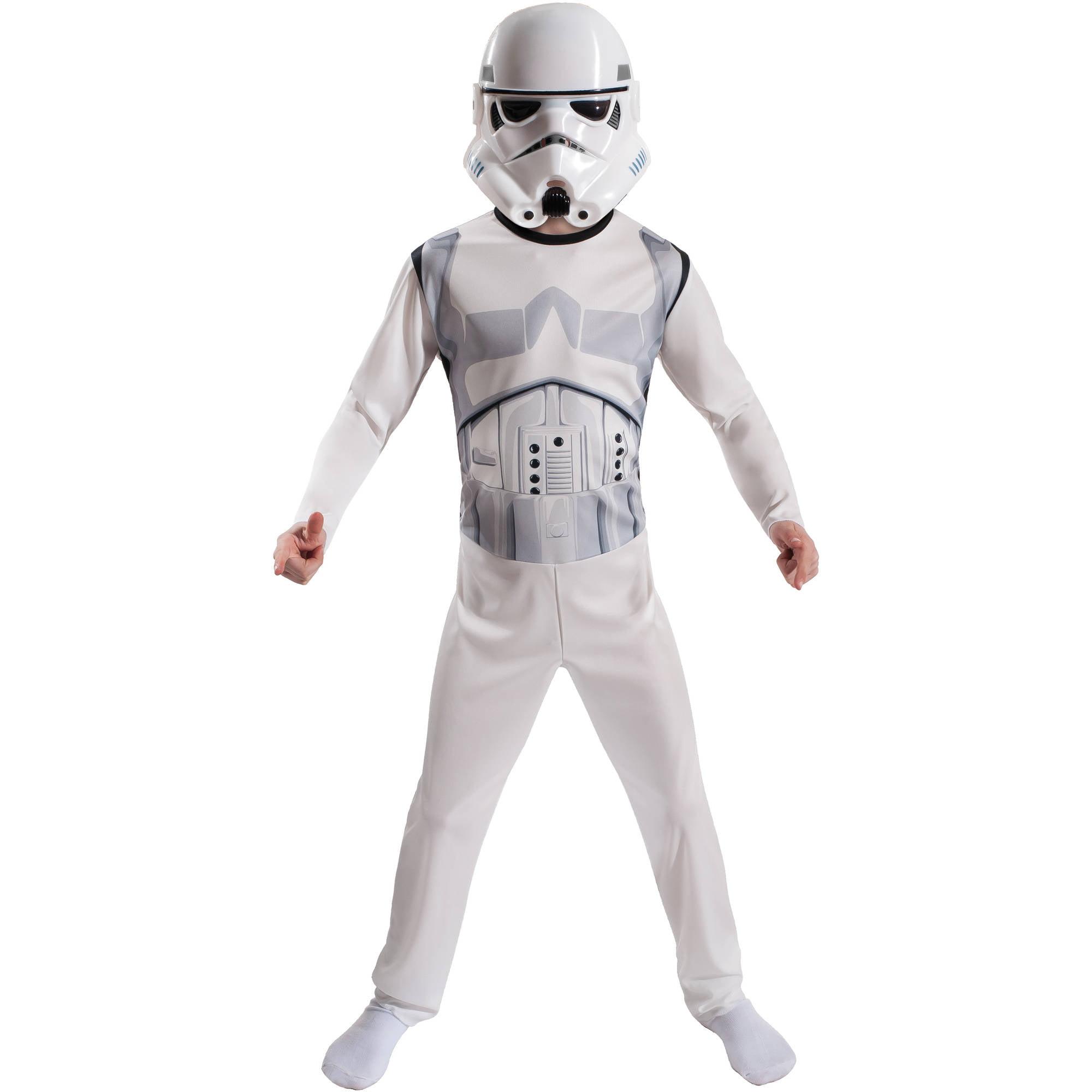 Star Wars Storm Trooper Child Costume Role Play Set, Size Medium ...