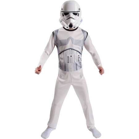 Star Wars Storm Trooper Child Costume Role Play Set, Size Medium for $<!---->