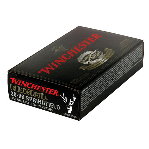Winchester 3006 Supreme Ballistic Silvertip Ammo