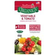 Jobes Organics Vegetable & Tomato Granular Plant Food, 4lbs, 2-5-3