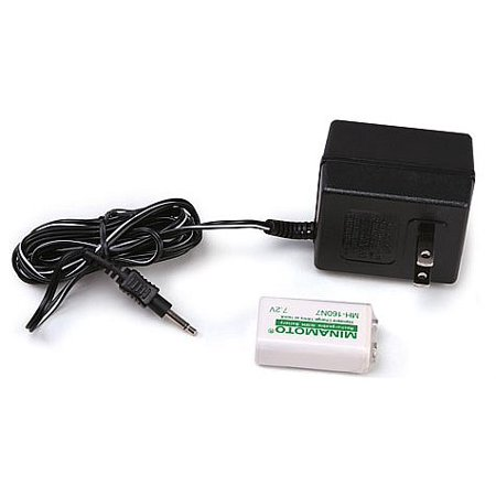 Recharger Kit for Enforcer G-2 and SuperScanner - NiMH Battery & 110 Volt 1610200, This Item Includes: Garrett Ni-MH Battery - 110V Charger -.., By (Disposable Battery Recharger)