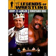 Uni Dist Corp Wwe-legends Of Wrestling-jerry The King Lawler & Junkyard Dog [dvd] by WWE HOME ENTERTAINMENT