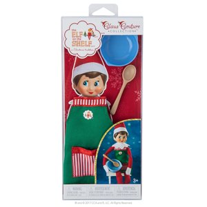 Elf on the Shelf Claus Couture Sweet Shop Set Novelty, Green| Red