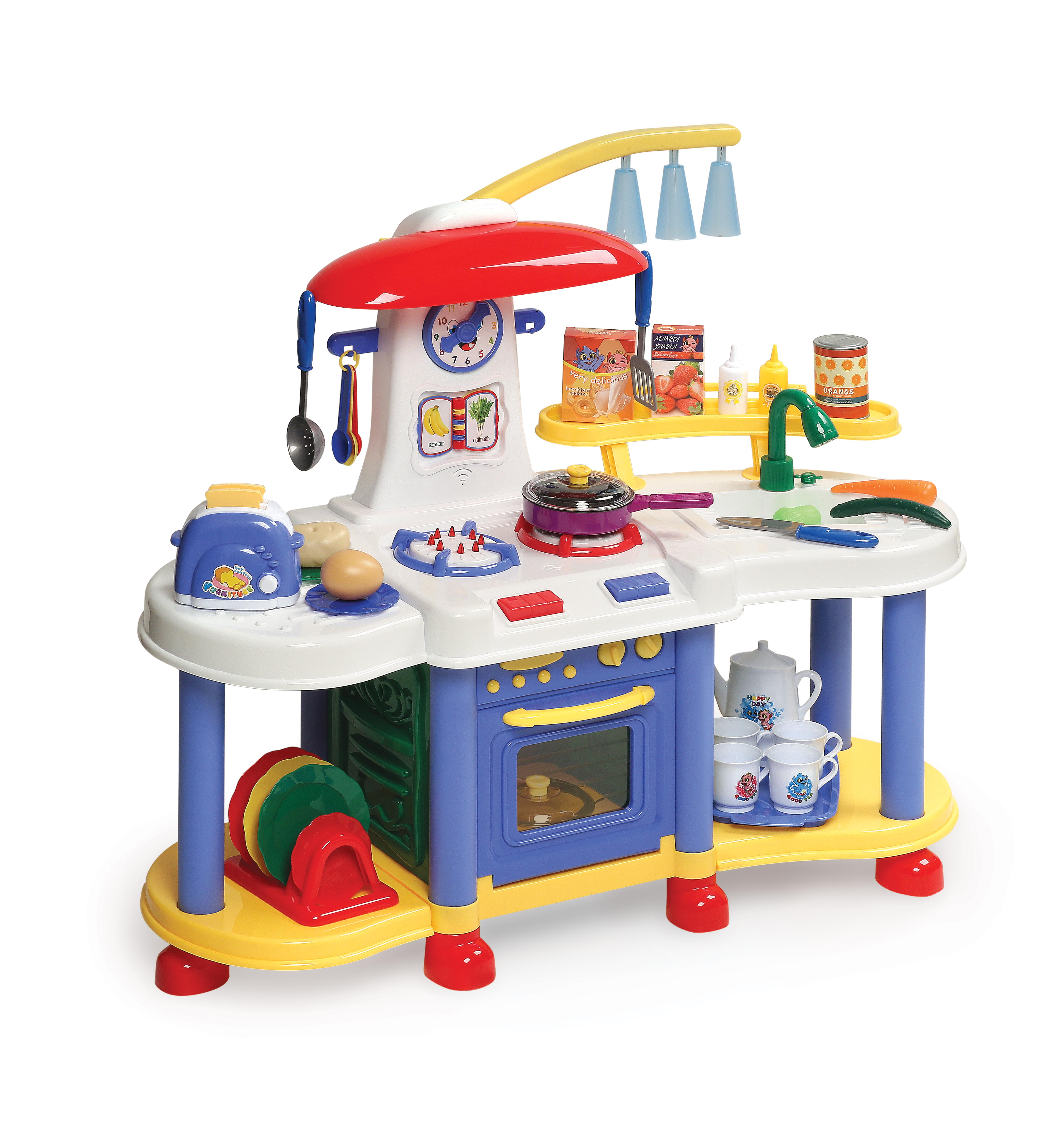 Badger Basket Super Electronic Play Kitchen with Accessories