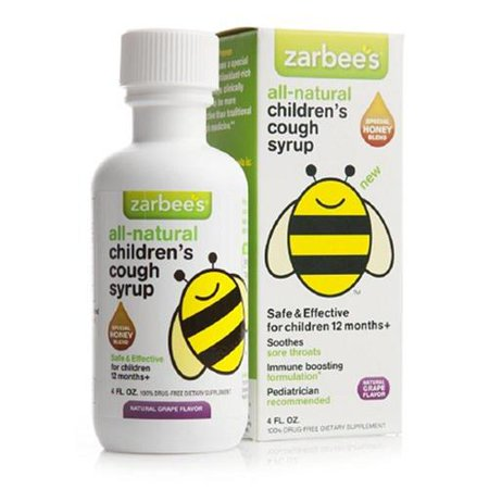 Zarbee S Naturals Children S Cough Syrup Nighttime Grape