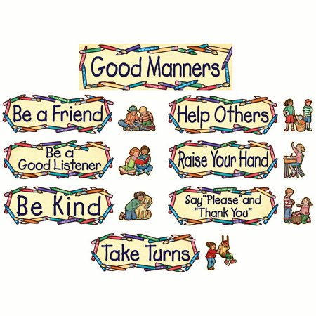 Good Manners Bulletin Board - SW GOOD MANNERS MINI BB SET