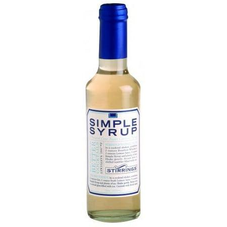 (2 Bottles) Stirrings Simple Syrup, 12 Fl Oz