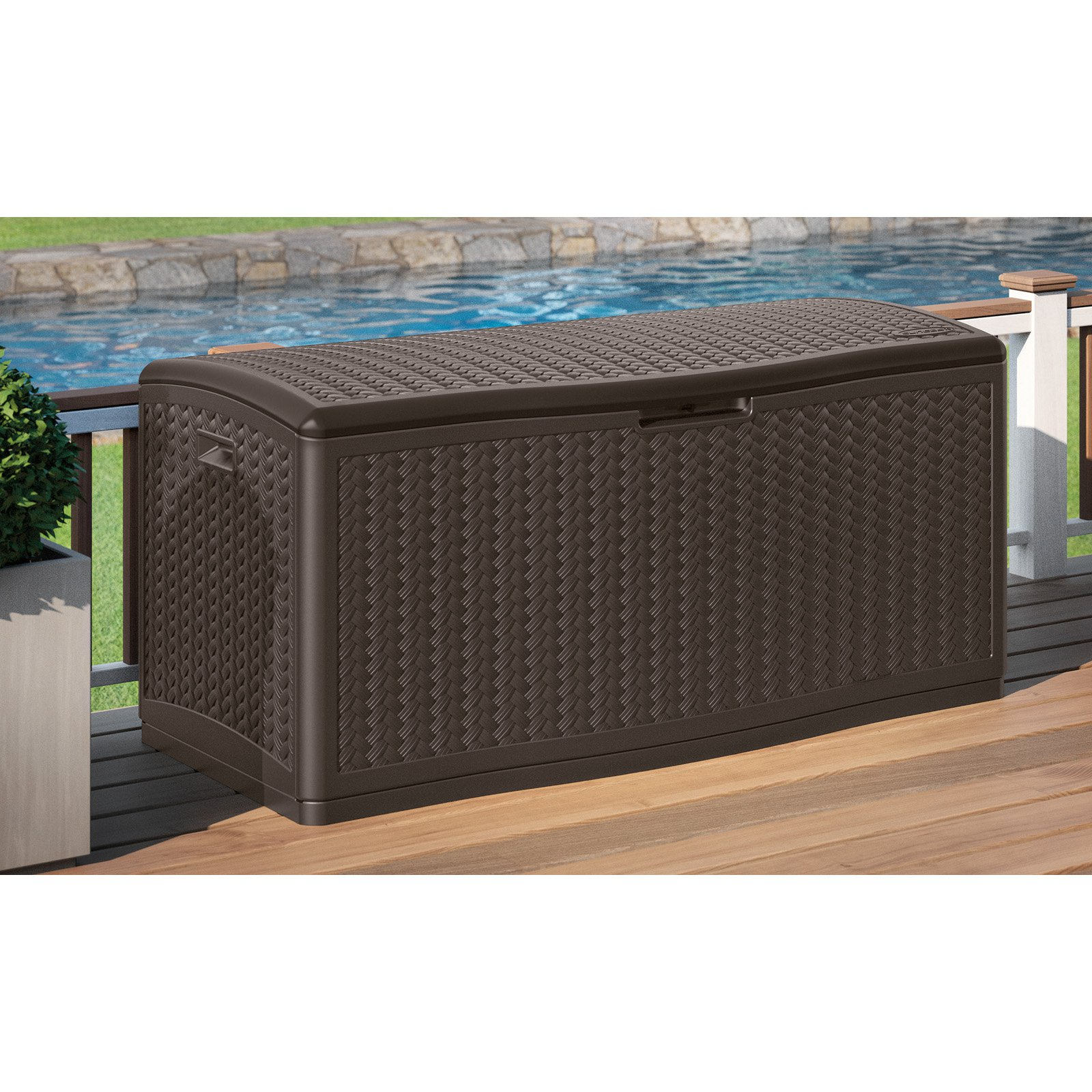 Suncast 124-Gallon Deck Box by Suncast Corp