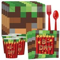 Minecraft Party Supplies - Kit