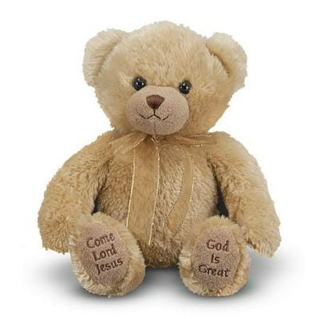 Melissa Doug Mealtime Prayer Bear - Prayer Bear