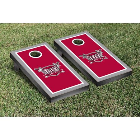 Victory Tailgate NCAA Border Wooden Cornhole Game Set