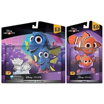 Disney Infinity 3.0: Finding Dory Play Set w  Nemo Movie Figure Set New by