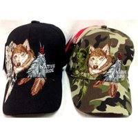 b071d34d029 DDI 1223948 Fox With Feather Adjustable Baseball Hats Case of 24