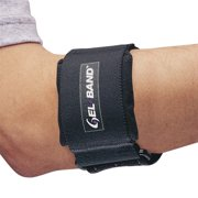 FLA Pro Tennis Elbow Gel Band-XS-BLK