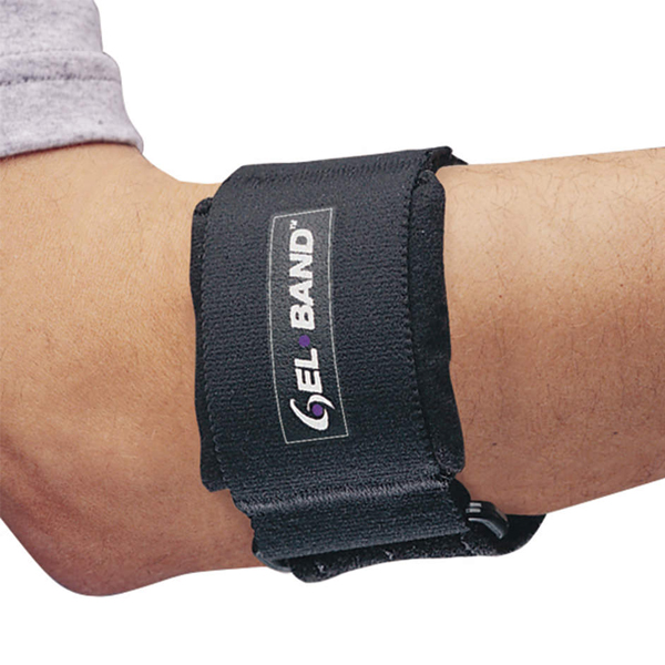 FLA Pro Tennis Elbow Gel Band-Uni-BLK