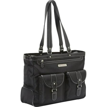 Clark & Mayfield Marquam Metro 15.6' Laptop Handbag - Black