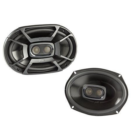 Polk 6x9 Inch 450W 3-Way Car/ Boat Coaxial Stereo Audio Speakers Marine | (Best Boat Stereo Speakers)