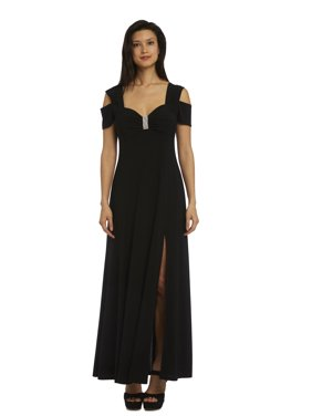 afca8590da Product Image Women s Long Formal Cold Shoulder Dress With Sweetheart  Neckline