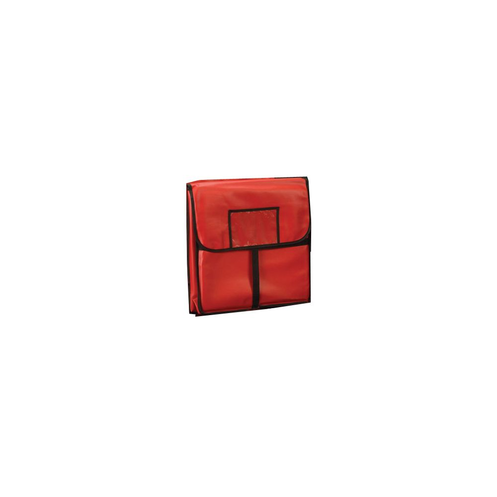"""American Metalcraft PB2000 20 x 20"""" Red Std Pizza Delivery Bag by American Metalcraft"""