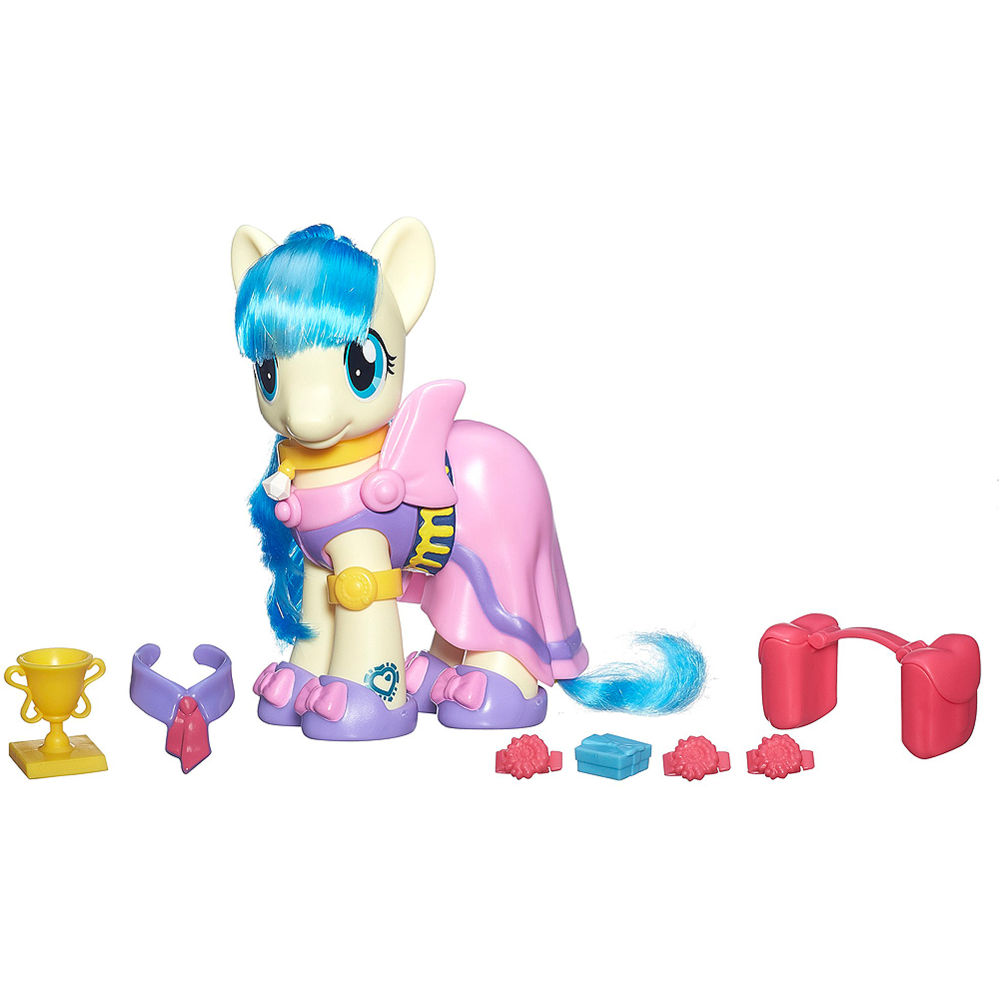 My Little Pony Cutie Mark Magic Fashion Style Miss Pommel Figure