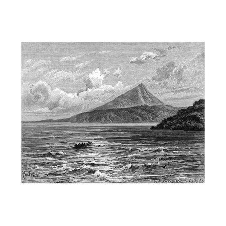 Nicaragua Lake Print Wall Art By Ernst Huyn