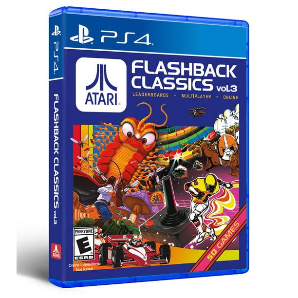 Atari Flashback Classics Volume 3, AtGames, PlayStation 4, 742725911680 - Walmart.com - Walmart.com