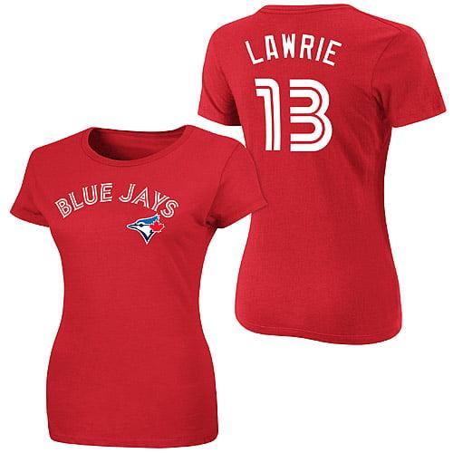 Brett Lawrie Toronto Blue Jays Majestic Women's Canada Day T-Shirt - Red
