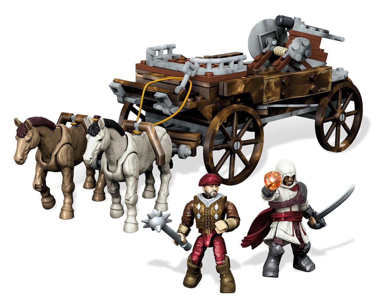 Mega Bloks Assassin's Creed Chariot Chase Building Set by Mega Bloks