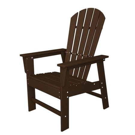 POLYWOOD® South Beach Recycled Plastic Adirondack Chair - 26.5W x 29D x 42.5H in.