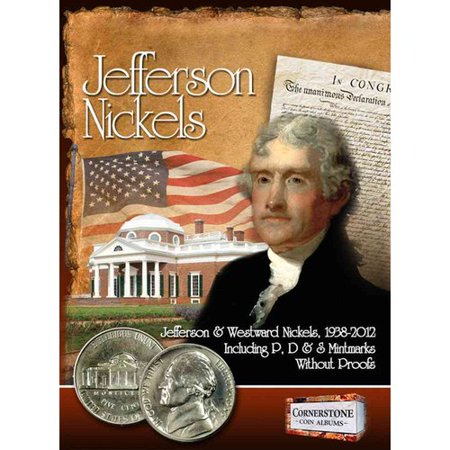 Jefferson Nickels: Jefferson & Westward Nickels, 1938-2012 Including P, D & S Mintmarks Without Proofs 1961 Jefferson Nickel Proof