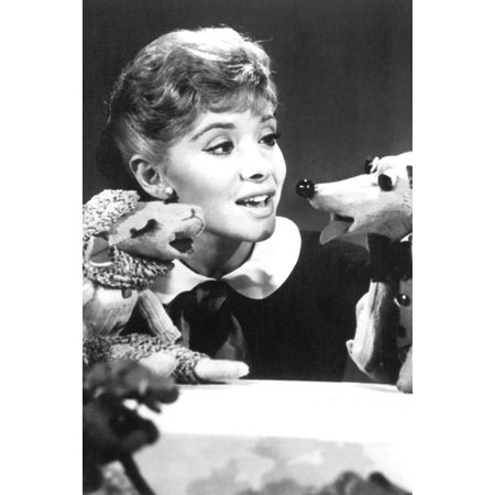 Shari Lewis 24x36 Poster with Lamb Chop and Charlie Horse (Lewis Lamb)