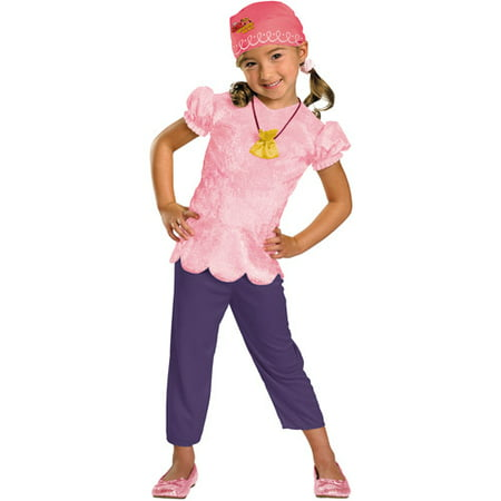 Disney's Jake and The Neverland Pirates Izzy Classic Toddler Dress-Up Costume](Jake Pirate Costume)