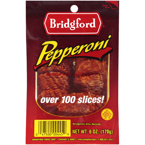 Bridgford:  Pepperoni, 6 Oz