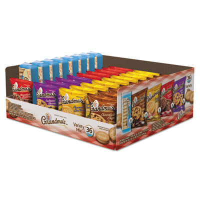 Cookies Variety Tray 36 Ct, 2.5 oz Packs 13256