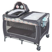 BABY TREND LIL SNOOZE DELUXE II NURSERY CENTER PLAYARD - FOREST PARTY GREY
