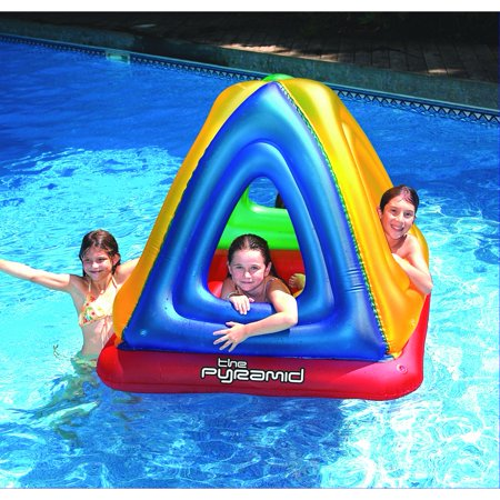 Swimline The Pyramid Floating Habitat Pool Toy for Swimming Pools