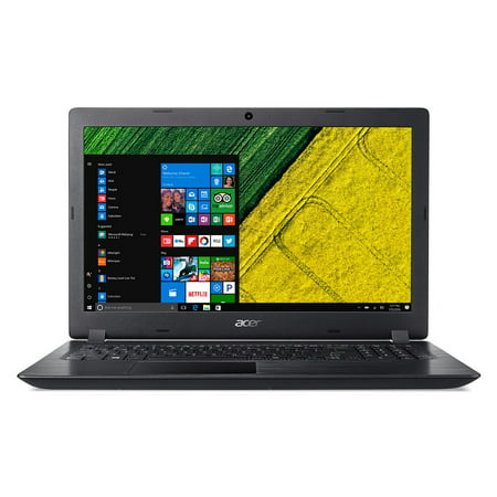 """Acer Aspire 3, 15.6"""" HD, Intel Core i5-7200U, 6GB DDR4 RAM, 1TB HDD, Windows 10 Home - Black - A315-51-51SL"""