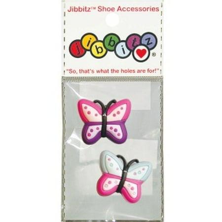 Nite Ize Crocs O-Dial Shoe Butterfly Assortment Jibbitz Charm J-B-2-1007