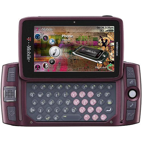 Sidekick LX 2009 PV300 GSM Cell Phone, Orchid (Unlocked)