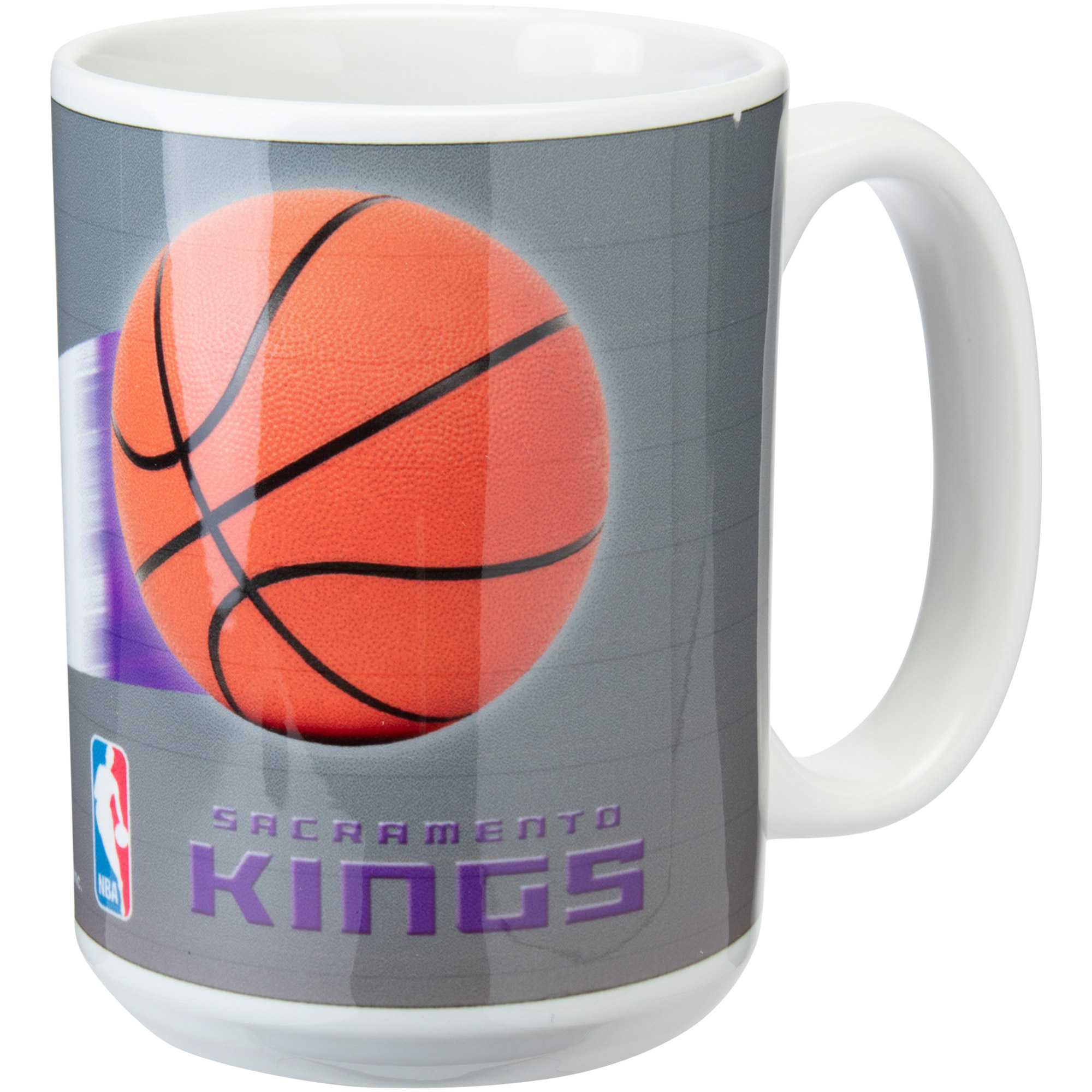 Sacramento Kings 15oz. Team 3D Graphic Mug - No Size