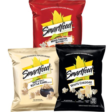 Smartfood Popcorn Variety Pack, 40 Count - Popcorn Bags For Halloween