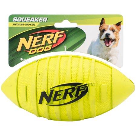 "Nerf Blitz Squeak Football 7""-Green - image 1 de 1"