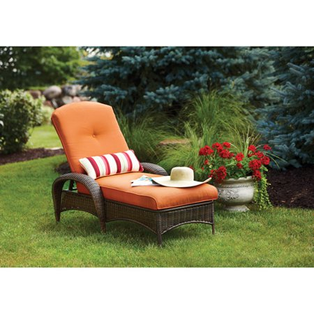 Better homes gardens lake island woven chaise for Better homes and gardens hillcrest outdoor chaise lounge