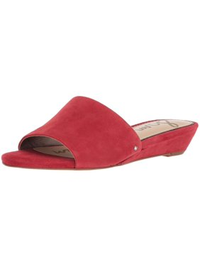 810349cd5fd Product Image Sam Edelman Womens Liliana Leather Open Toe Casual Slide  Sandals