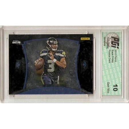 Russell Wilson 2012 Panini Black Friday Only 599 Made Rookie Card PGI 10 (Black Friday Optische Angebote)