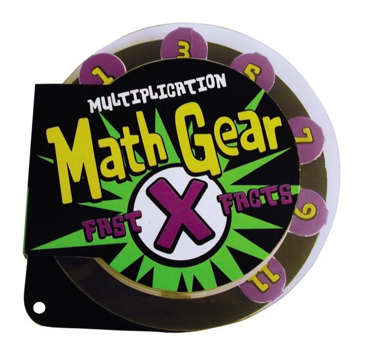 Math Gear: Fast Facts: Math Gear Fast Facts: Multiplication (Hardcover)